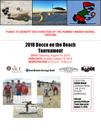 Bocci on the Beach 2018